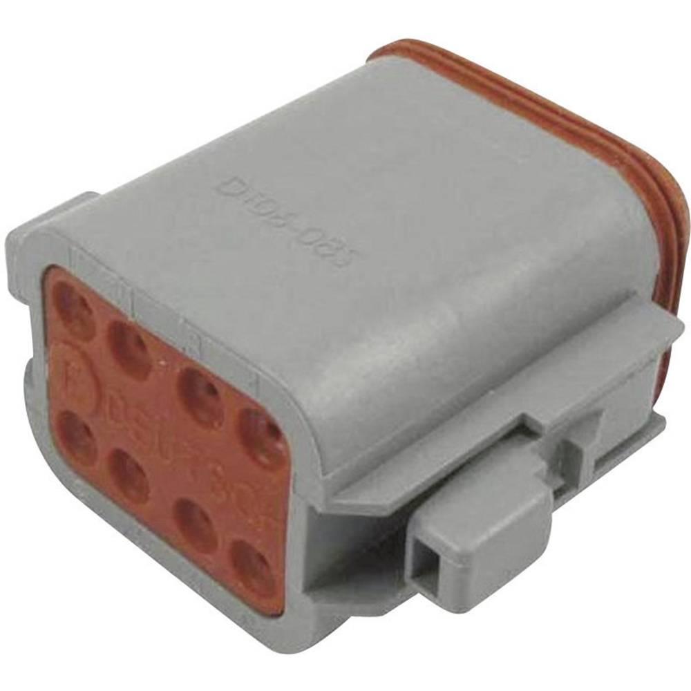 Konektor Deutsch serije DT, DT 06-08 SA-CE06, nazivni tok: 13 A, poli: 8, vsebina: 1 kos