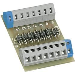 Modul z diodnimi vrati WAGO 289-111, za montažo na letev, 0,08-2,5 mm2, vsebina: 1 kos