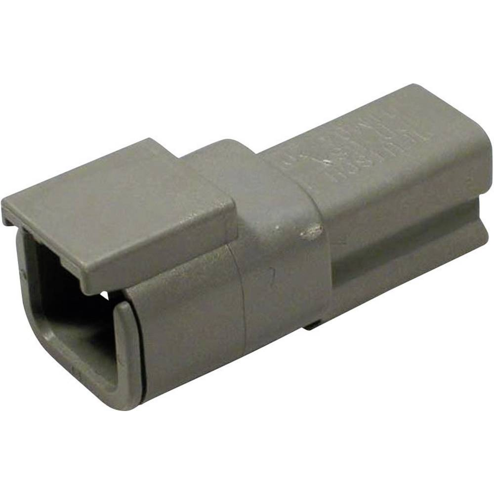 Konektor Deutsch serije DTM, DTM 04-2P, nazivni tok: 7,5 A,poli: 2, vsebina: 1 kos