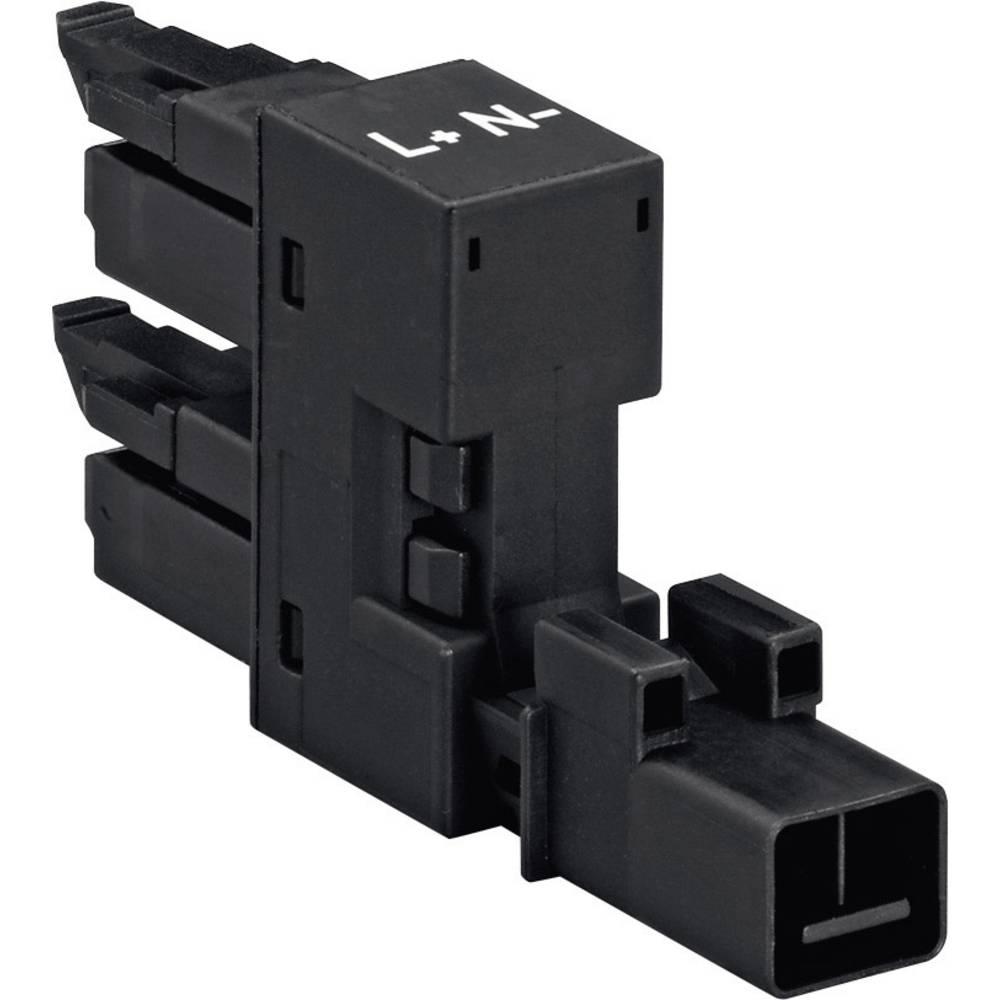 H-strømforsyningsfordeler WAGO 890-1686 Samlet poltal 2 Hvid 1 stk
