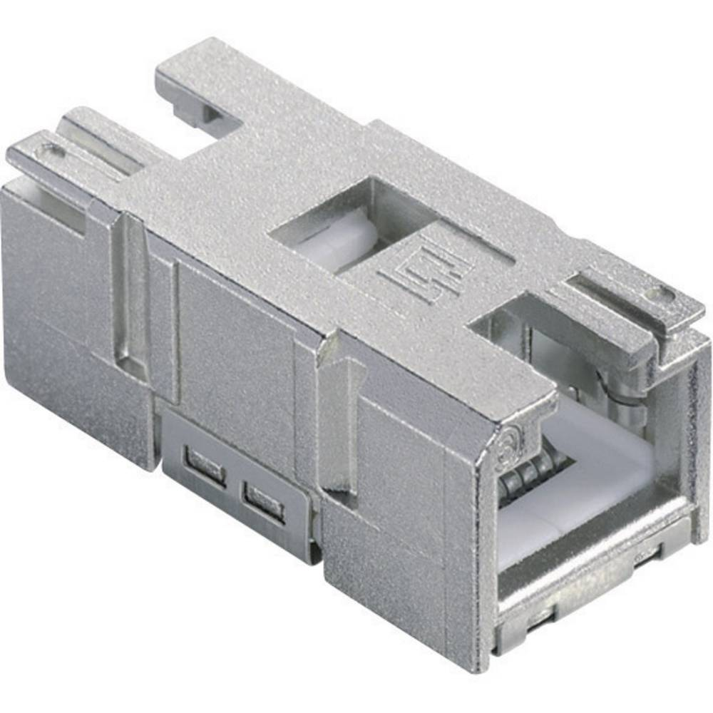Vgradni konektor RJ45 1401200810MI Siva BTR Netcom