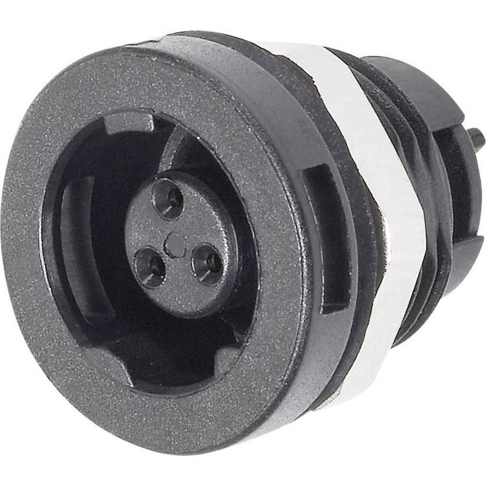 Izredno majhen okrogli vtičnikonektor, serije 420, nazivnitok: 1 A, št. polov: 3 09-47 09-4708-00-03 Binder