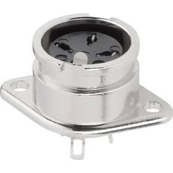 DIN-rundstik BKL Electronic 0202021 Poltal 8 Sølv 1 stk