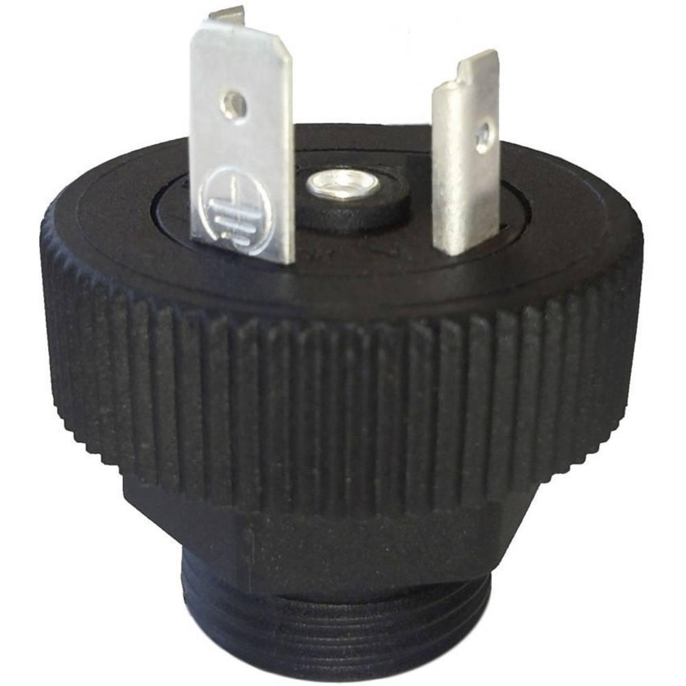 Ventil plug BGRN HTP BGRN02000-M20 Sort 1 stk