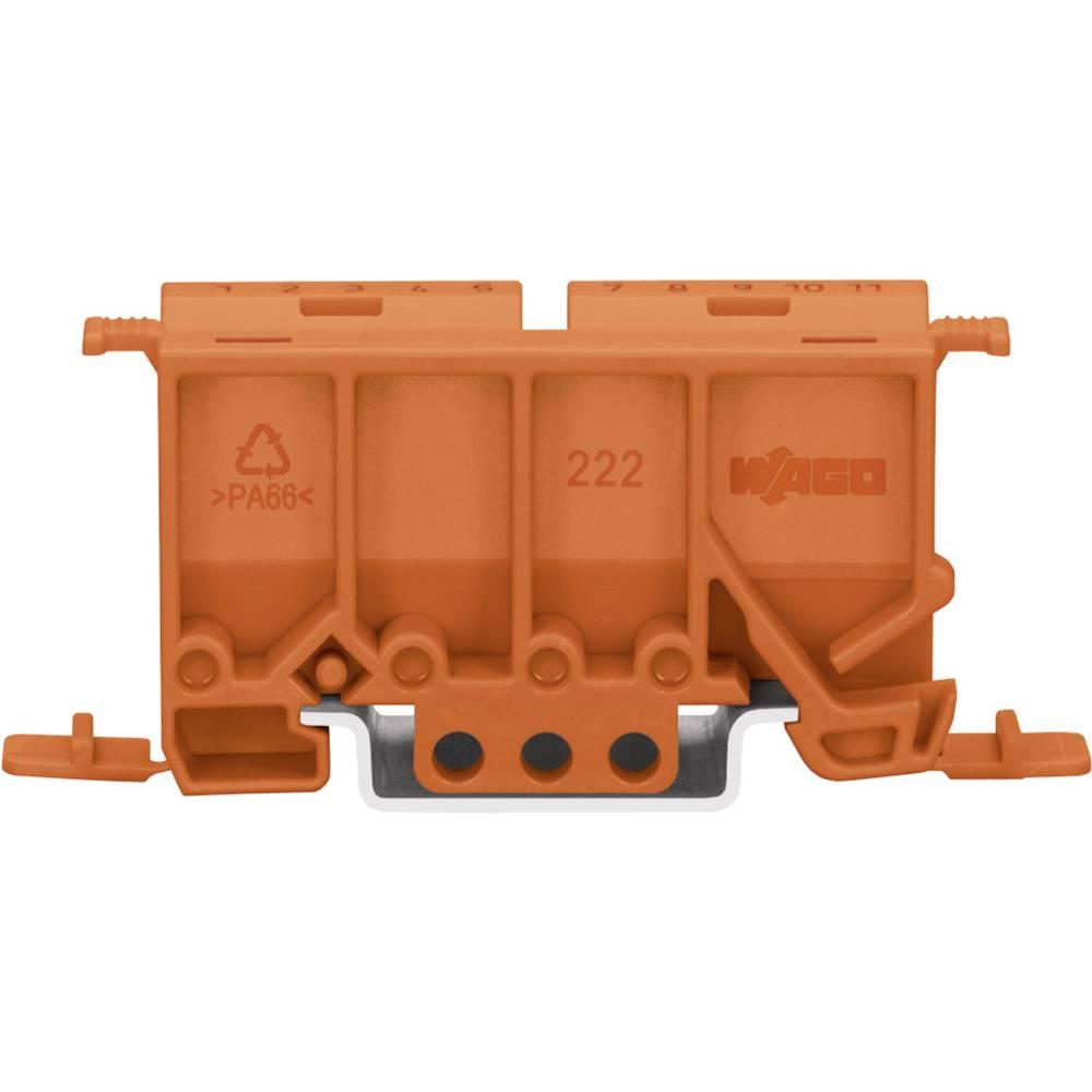 Montažni adapter za stezaljku serije 222 WAGO, narančasta 222-500