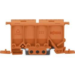 Fastgørelsesadapter WAGO 222-500 Orange 1 stk