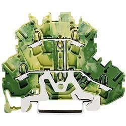 Skilleklemme med beskyttelsesleder Grøn-gul WAGO 1 stk