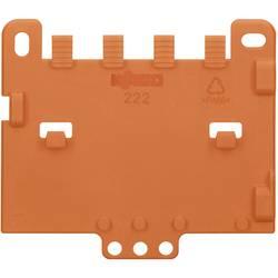 Trækaflastningsplade WAGO 222-505 Orange 1 stk