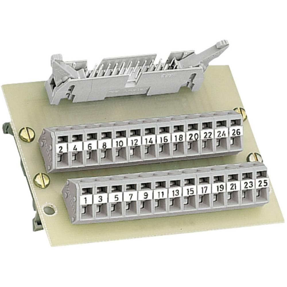 RJ45 vmesniški modul + letev zmoškimi kontakti WAGO 289-401, 0,08-2,5 mm2, vsebina: 1 kos