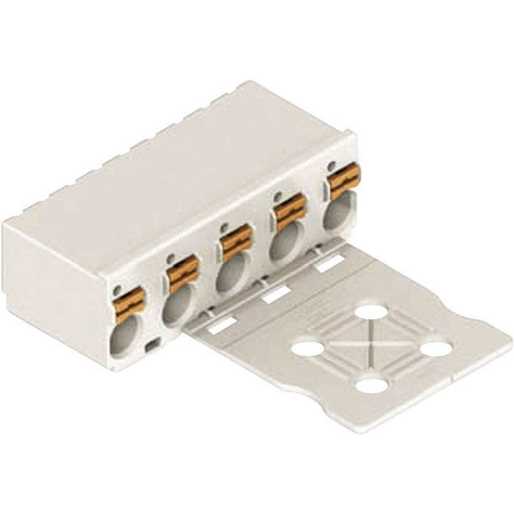 Večtočkovni konektor WAGO picoMAX 3.5, priključek: CAGE CLAMP S, 10 A, svetlo sive barve 2091-1106/0002-0000