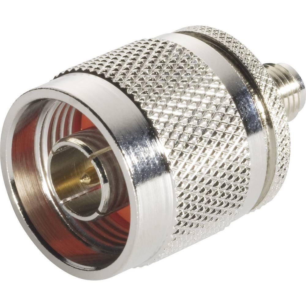 SMA-adapter SMA-tilslutning - N-stik BKL Electronic 0409046 1 stk