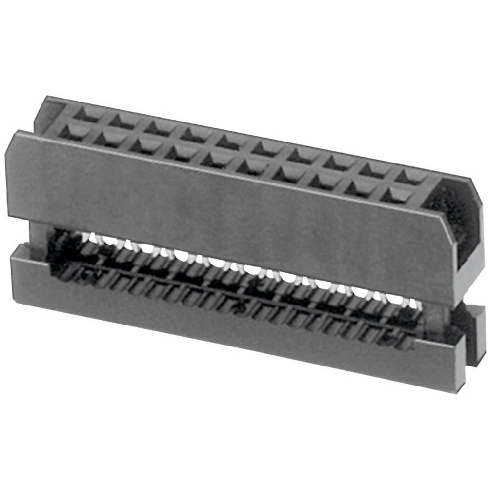 Pole-stikforbindelse Rastermål: 2 mm Samlet antal poler: 16 W & P Products 1 stk