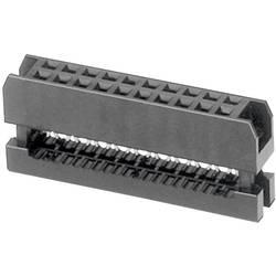 Pole-stikforbindelse Rastermål: 2 mm Samlet antal poler: 6 W & P Products 1 stk
