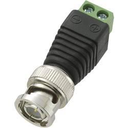 BNC-konektor, utikač, ravan 50 Ω Conrad Components LT-BNC-DC 1 kom.
