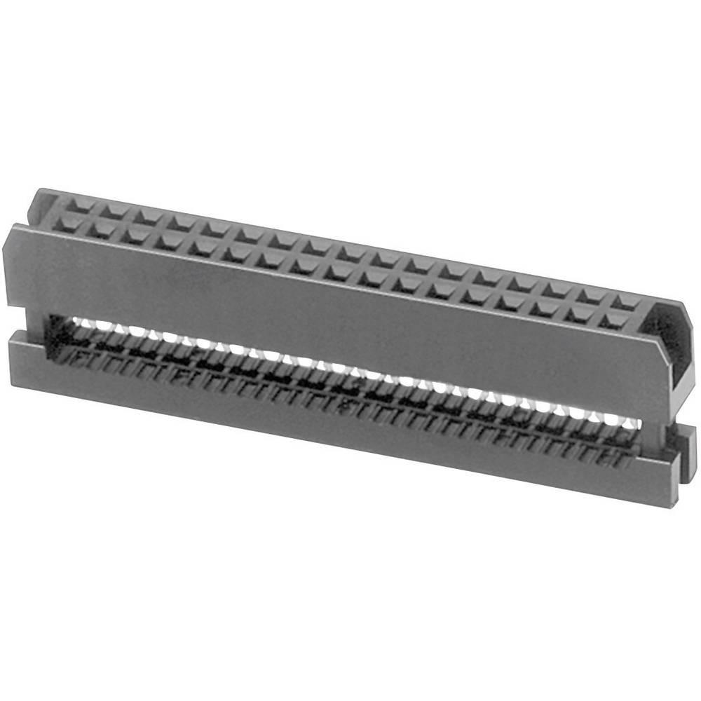 Pole-stikforbindelse Rastermål: 2 mm Samlet antal poler: 30 W & P Products 1 stk