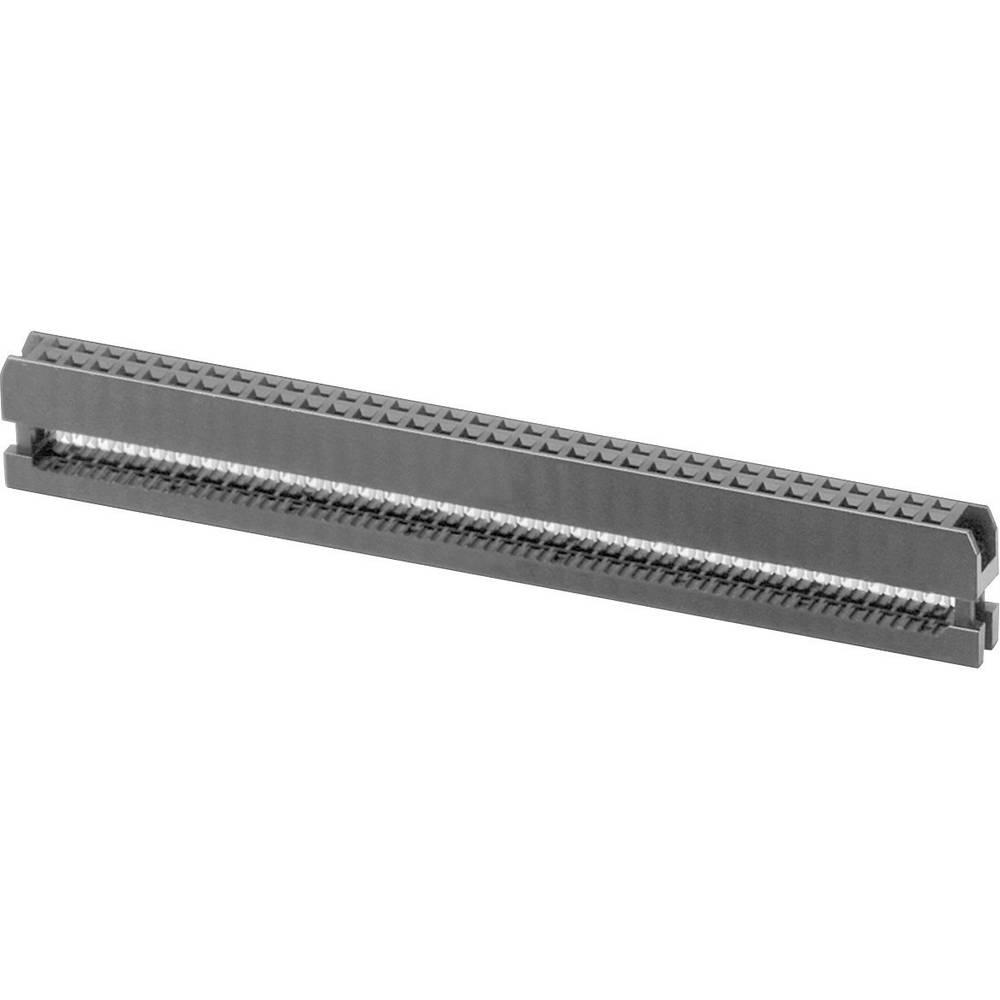 Pole-stikforbindelse Rastermål: 2 mm Samlet antal poler: 40 W & P Products 1 stk