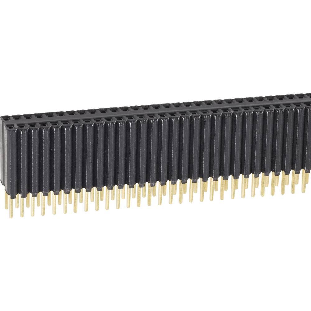 Bøsningsliste (standard) Fischer Elektronik BLM KG 2/ 72/G 1 stk