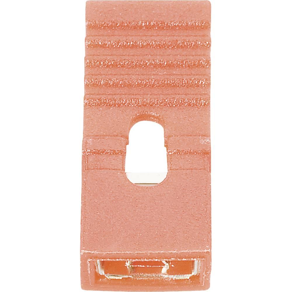 Kortslutningsbro Rastermål: 2.54 mm Poltal hver række:2 Fischer Elektronik CAB 9 G R Indhold: 1 stk