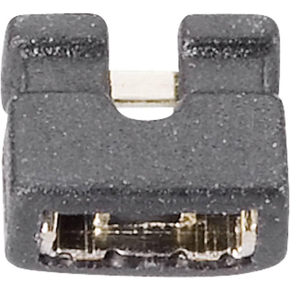 Kortslutningsbro Rastermål: 2 mm Poltal hver række:2 Fischer Elektronik CAB 10 G S Indhold: 1 stk