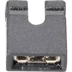 Kortslutningsbro Rastermål: 2 mm Poltal hver række:2 Fischer Elektronik CAB 11 G S Indhold: 1 stk