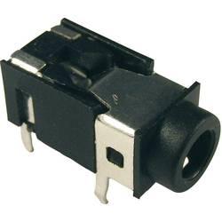 Jack-stik 3,5 mm Cliff FC68125 Poltal 4 Stereo Sort 1 stk