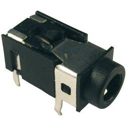 Jack-stik 3,5 mm Cliff FC68127 Poltal 4 Stereo Sort 1 stk