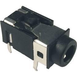 Jack-stik 3,5 mm Cliff FC68129 Poltal 4 Stereo Sort 1 stk