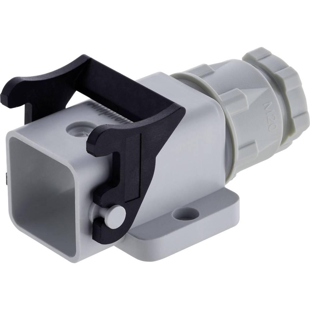 Ohišje za vtikač z navojem, 1 izhod za kabel Amphenol C146 10N003 500 4 1 kos