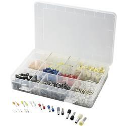 Sortiment votlic 0.5 mm² 10 mm² oranžne barve, bele barve, rumene barve, rdeče barve, modre barve, zelene barve, črne