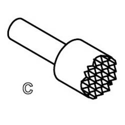 Precision test pin for PCB inspektion PTR 5110/S-C-1.2N-AU-2.3C