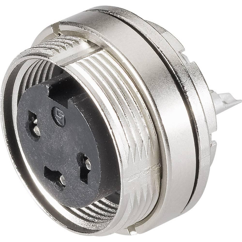 Miniaturni okrogli vtični konektor, serije 723, nazivni tok:6 A, št. polov: 4 09-0112-8 Binder