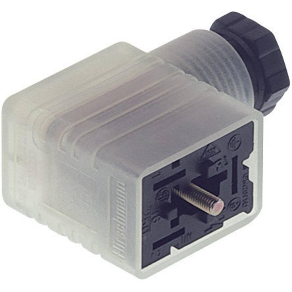 Kabelfatning med funktion display Hirschmann GML 216 NJ LED 24 HH 2 + PE Sort 1 stk