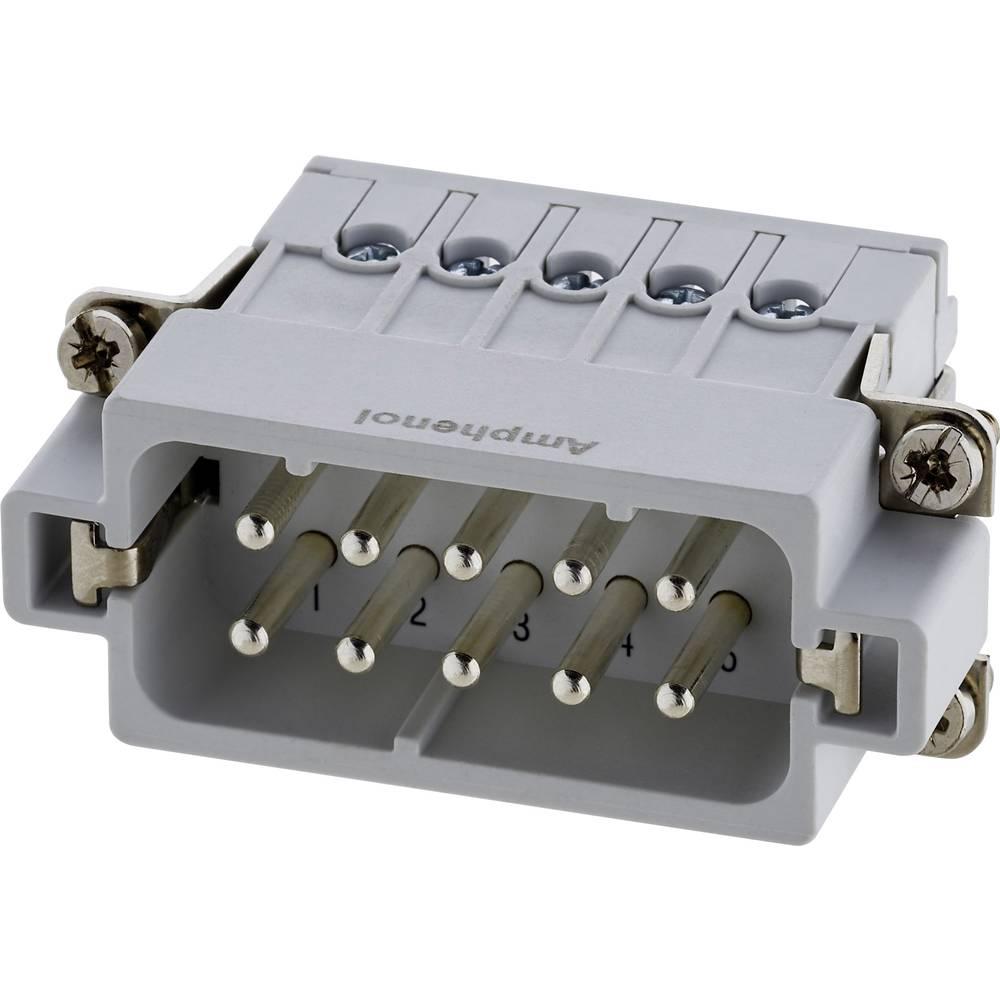 Industrijski konektor Amphenol Tuchel C146 10A010 002 4, izvedba: moški vložek