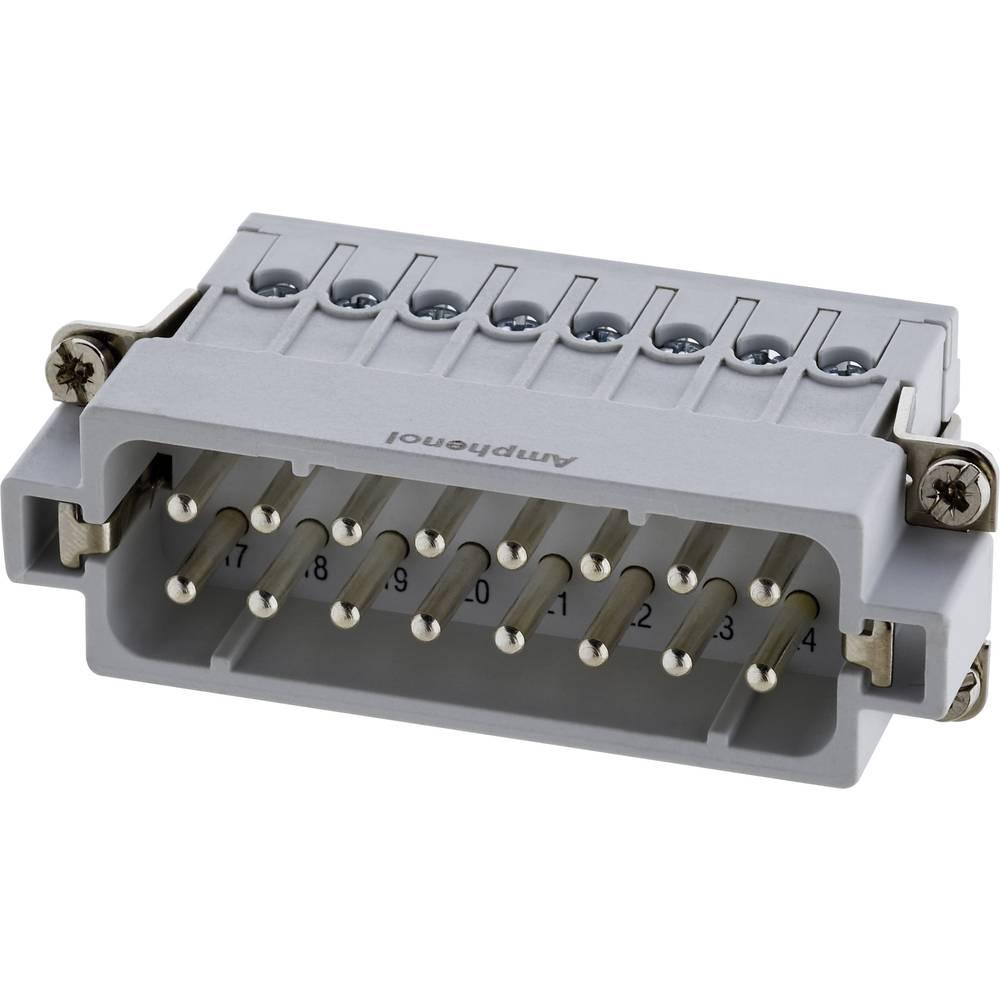 Industrijski konektor AmphenolTuchel C146 10A016 002 4, izvedba: moški vložek