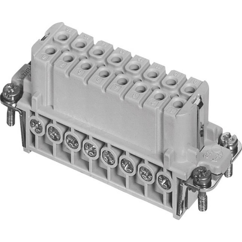Industrijski konektor AmphenolTuchel C146 10B016 002 4, izvedba: ženski vložek
