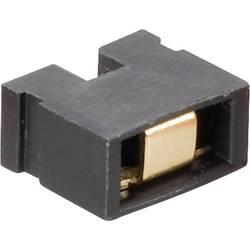 Kortslutningsbro Rastermål: 2.54 mm Poltal hver række:2 Fischer Elektronik CAB 6 05 G S Indhold: 1 stk
