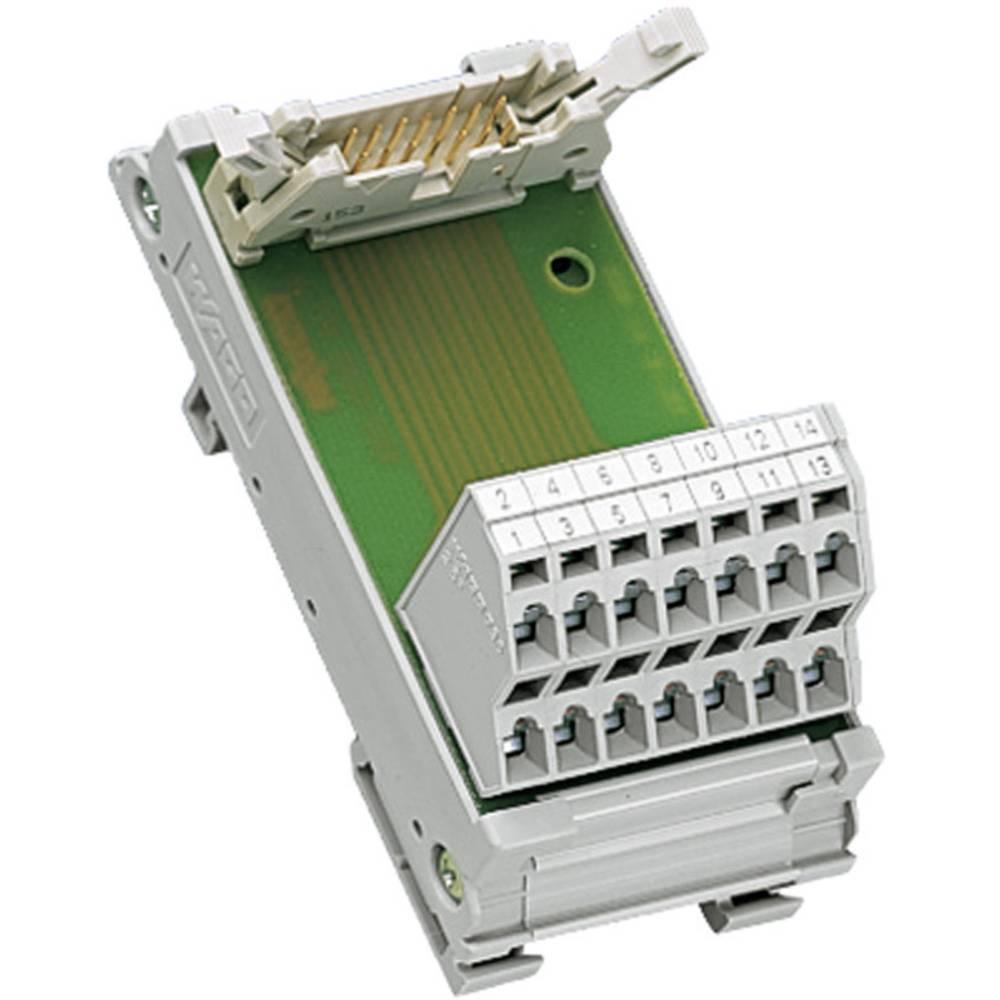 Vmesniški modul za moški konektor za ploščati kabel WAGO 289-613, 0,08-2,5 mm2, 1 kos