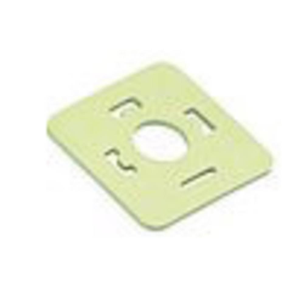 Pakning til magnetventil stik byggeri type A Series 210 Binder 16-8085-000 Beige 1 stk