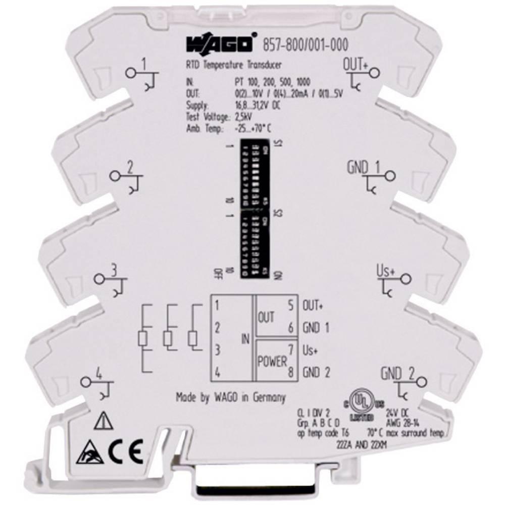 WAGO 857-800 mjerni pretvaračza temperaturu, mogučnost konfiguracije za 857-800
