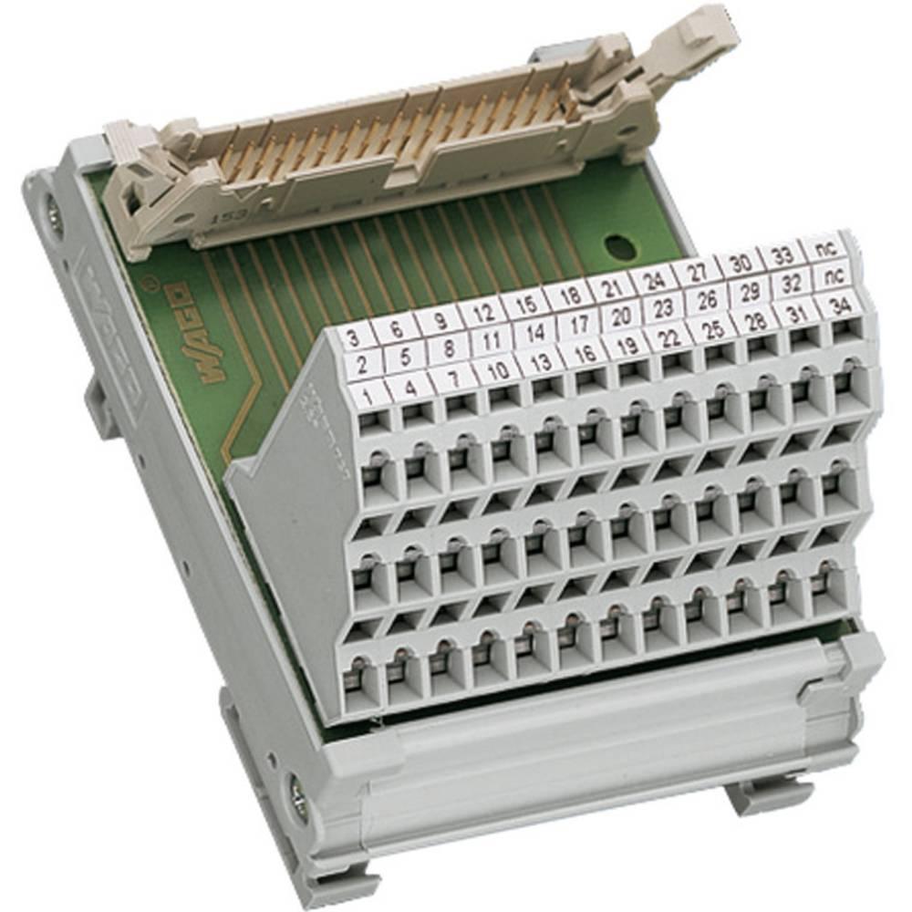 Vmesniški modul za moški konektor za ploščati kabel WAGO 289-614, 0,08-2,5 mm2, 1 kos