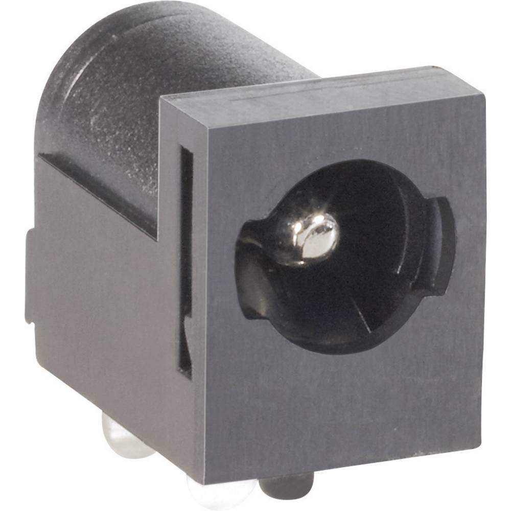 Lavspændingsstik Tilslutning, indbygning vandret 5.5 mm 2.5 mm BKL Electronic 075823 1 stk