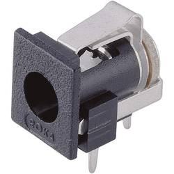 Ugradbeni konektor za mrežne uređaje za napajanje, montaža na tiskane pločice 2.1 mm 1.95 mm