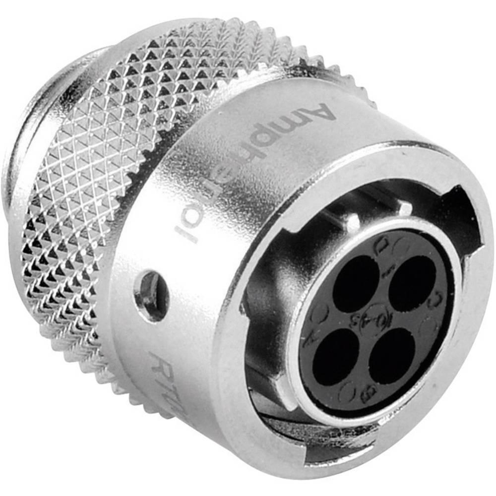Ženski konektor za kabel Amphenol Tuchel RT0610-4SNH, nazivni tok: 13 A, poli: 4