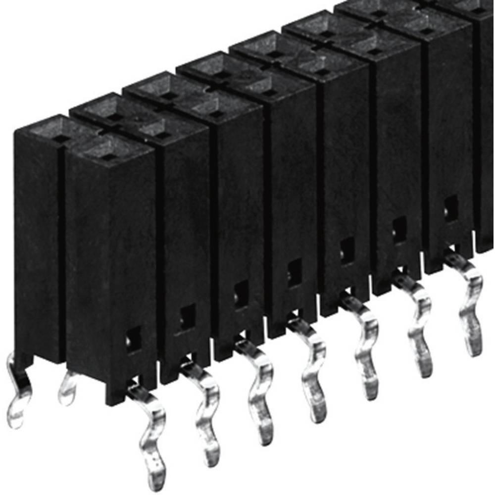 Bøsningsliste (standard) Fischer Elektronik BL 12/762/ 90/Z 1 stk
