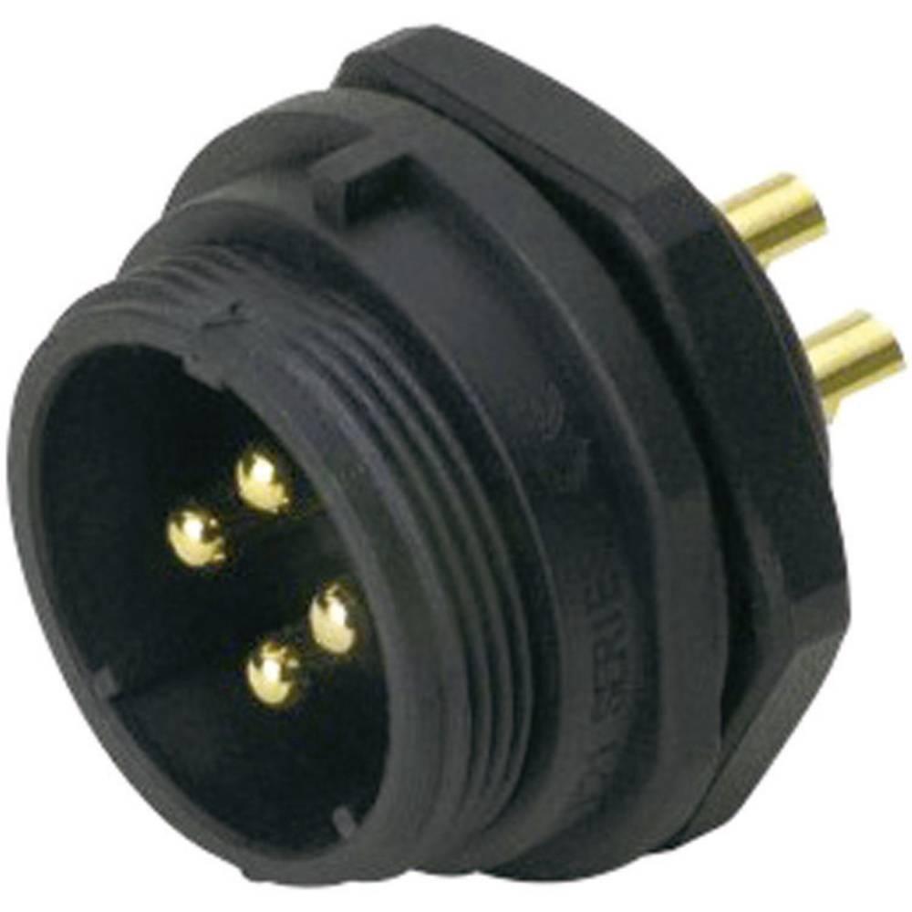Konektor Weipu serije SP21, SP2112 / P 5B, IP68, nazivni tok: 5/30 A, poli: 5B, 1 kos
