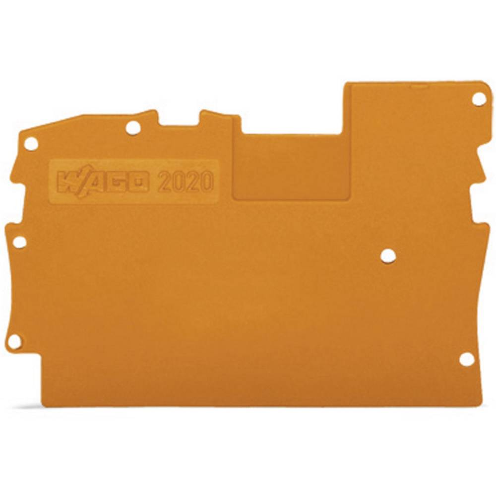 WAGO 2020-1291 Cover Plate Grey
