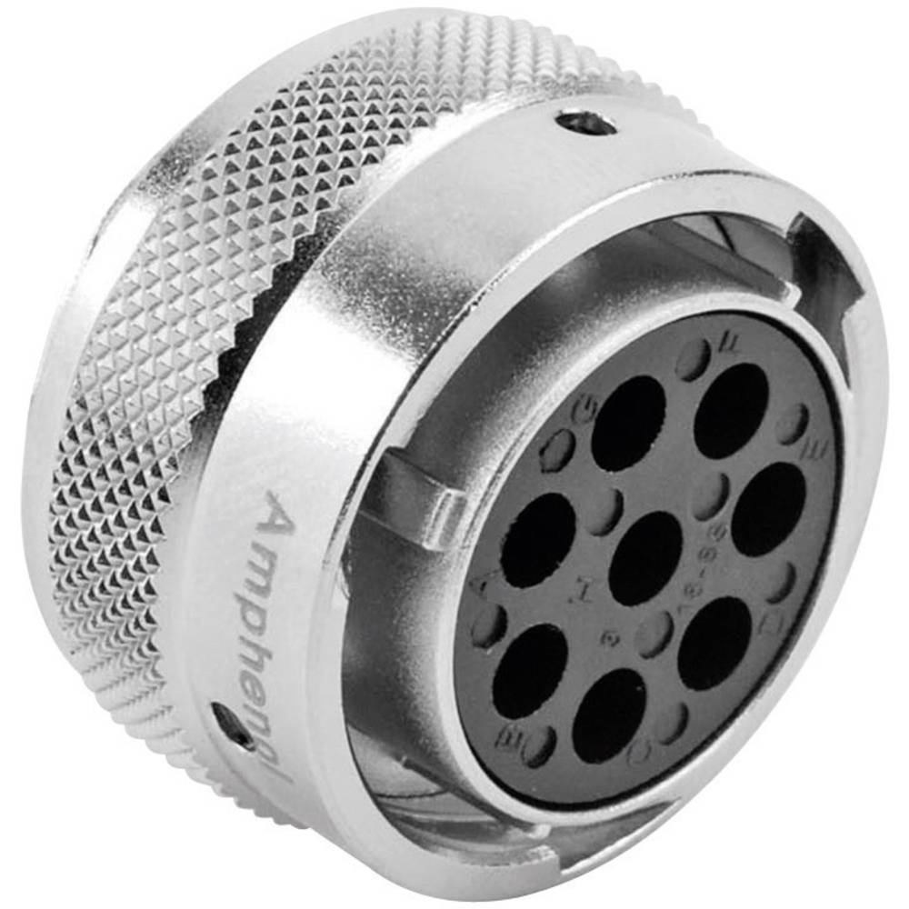 Ženski konektor za kabel Amphenol Tuchel RT0618-8SNH, nazivni tok: 13 A/5 A, poli: 8