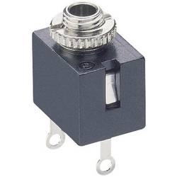 Jack-stik 2,5 mm Lumberg KLB 1 Poltal 2 Mono Sort 1 stk