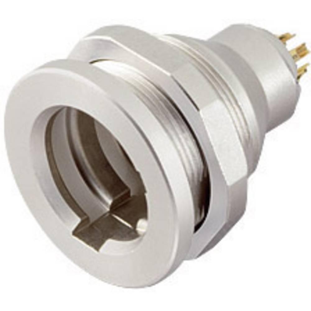 Sub-miniaturni-okrogli vtični konektor, serije 430 poli: 3 prirobna vtičnica 3 A 09-4908-015-03 Binder 1 kos