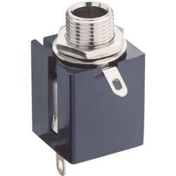 Jack-stik 6,35 mm Lumberg KLBPS 3 Poltal 3 Stereo Sort 1 stk